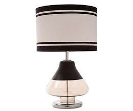 Lampa Elegant Stripes Three Black