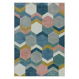 Koberec Asiatic Carpets Hexagon Multi, 160 x 230 cm